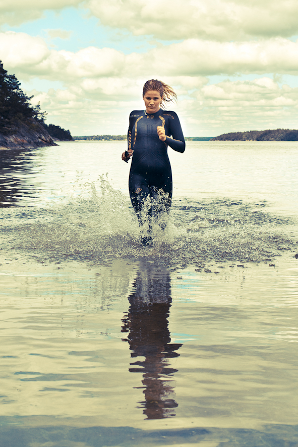 Annie Thorén, triathlet