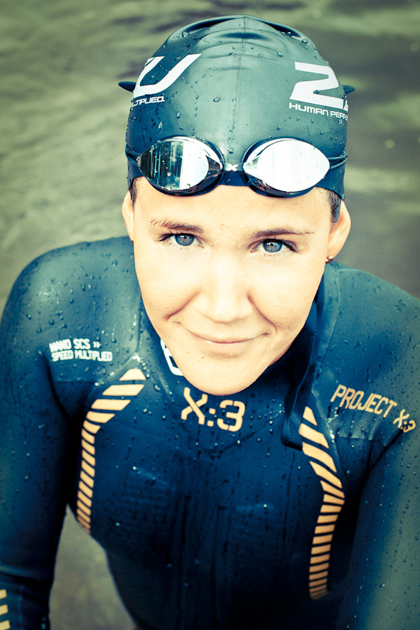 Annie Thorén, triatlet